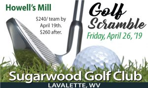Golf Scramble Fundraiser @ Sugarwood