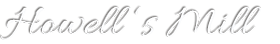 Howells Mill Logo