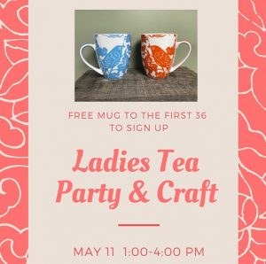 Ladies Tea & Craft Event